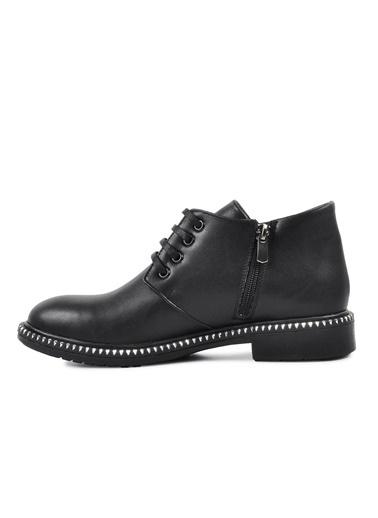 Pierre Cardin Pierre Cardin 50421 Siyah-Kroko Kadın Günlük Ayakkabı Siyah